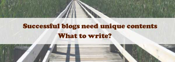 what to write for your blog